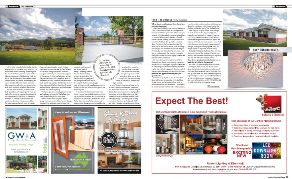 focus magazine builder port macquarie